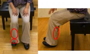 足関節背屈で固まりやすいところ