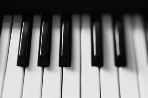 Musical Instrument Keyboard Keys