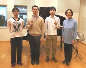 2015年1月17日(土)東京グループレッスンの記念写真