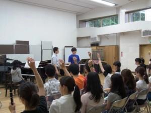 東京学芸大学での講義風景