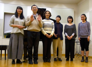 記念写真:東京レッスン-2016年2月29日(月)