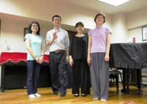 札幌グループレッスン-2016年7月8日(金)午後の集合写真