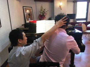 ピアノ-上向とアレクサンダーテクニーク