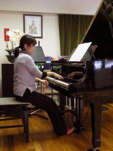 ピアノの連打(ビフォー)