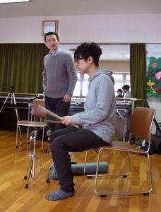 ドラム演奏-アフター1