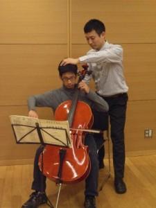チェロ演奏とアレクサンダーテクニーク