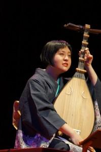 筑前琵琶奏者 高木青鳳さん