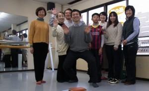 金沢グループレッスンの記念写真-2015年3月8日(日)