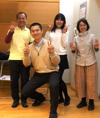記念写真--2015年3月11日(土)東京グループレッスン