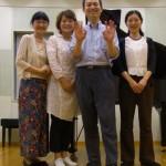 2015年7月11日(土)東京アレクサンダーテクニークグループレッスンの記念写真