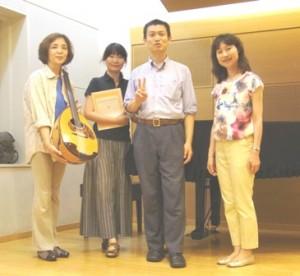 東京午後のアレクサンダー・テクニークのグループレッスンー2015年7月27日(月)