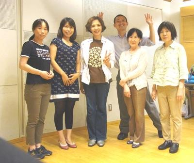 東京グループレッスン記念写真-2015年8月12日(水)夕方クラス