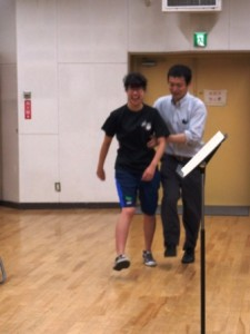 クラリネット(木管管楽器)奏者とスキップ その1