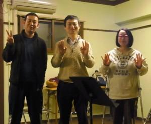 2016年2月5日(金)仙台アレクサンダー・テクニークのグループレッスン