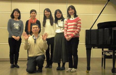 アレクサンダー・テクニーク横浜グループレッスン記念写真-2016年1月24日(日)