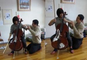 チェロの演奏とアレクサンダー・テクニーク