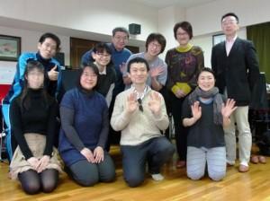 アレクサンダー・テクニーク札幌グループレッスンの記念写真-2016年4月3日(日)
