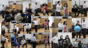 2016年4月27日(水)東京学芸大学音楽専修の方たちとのアレクサンダーテクニークの講座