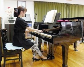 ピアノ演奏アフター