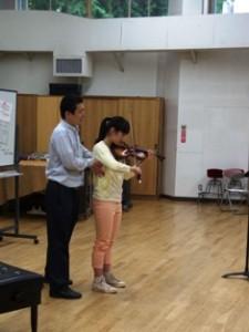 ヴァイオリン演奏
