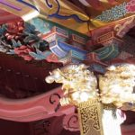根津神社の象と獅子