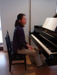ピアノ-アフター:弾き終わった瞬間