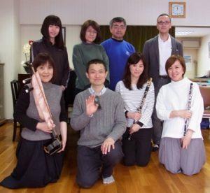 2017年3月25日(土)グループレッスンの記念写真