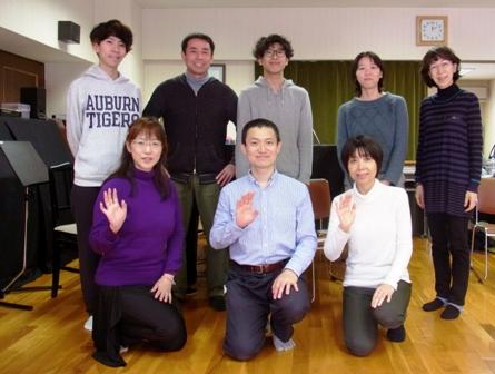 記念写真-2017年3月26日(日)札幌グループレッスン