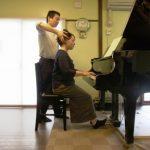 ピアノ演奏-アフター 全身の伸びやかさを取り戻すと、音楽が前に進み始める。