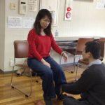 足首の関節(足関節)のボディマッピング
