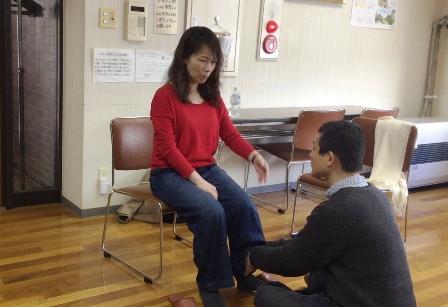 芦窪の関節(足関節)のボディマッピング