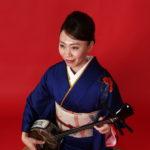 稲葉香織さん-沖縄民謡
