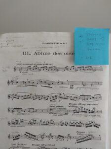 坂田亜希さんの楽譜
